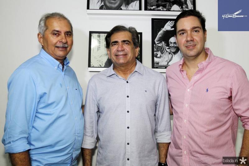 Nezinho Farias, Zezinho Albuquerque e Eduardo Bismarck