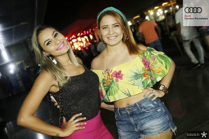 Luana Vanessa e Juliana Lacerda