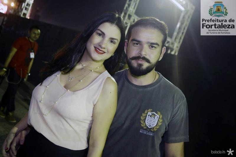 Raissa Vidigal e Carlos Mesquita
