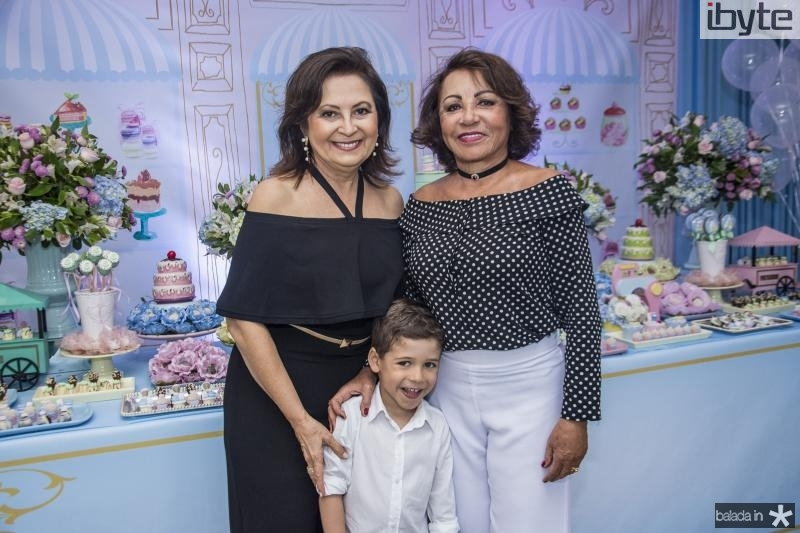 Socorro Campos, Rafael Sa e Eneuda Duarte