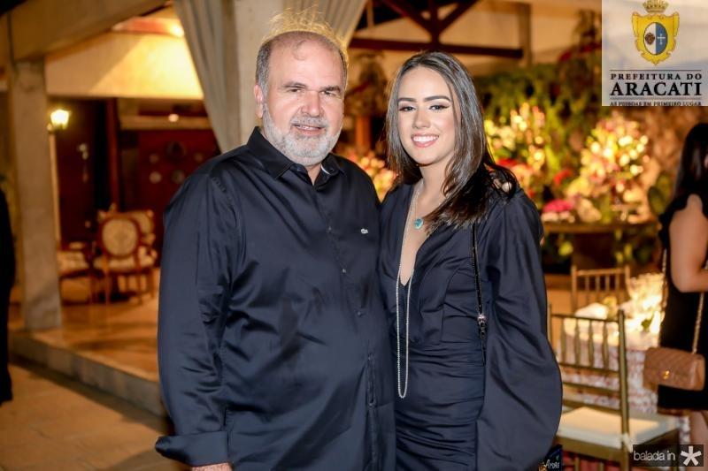Haroldo Diogo e Isabela Nogueira