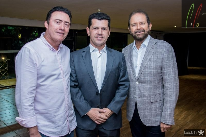 Darlan Leite, Erick Vasconcelos e Guilherme Paulus