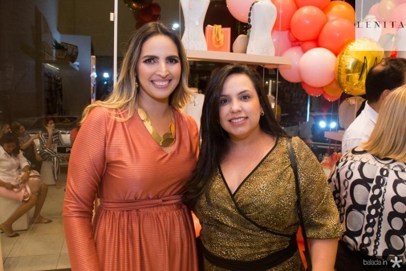 Mariana Queiroz e Flavia Silveira
