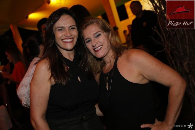 Silvania Pinto e Lolo Moreira