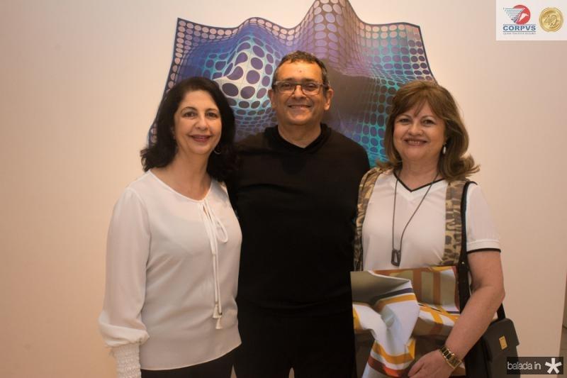 Ana Maia, Jose Guedes e Sandra Biana