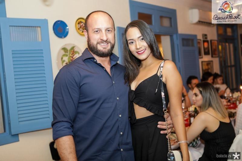 Marco Giovati e Mara Marques