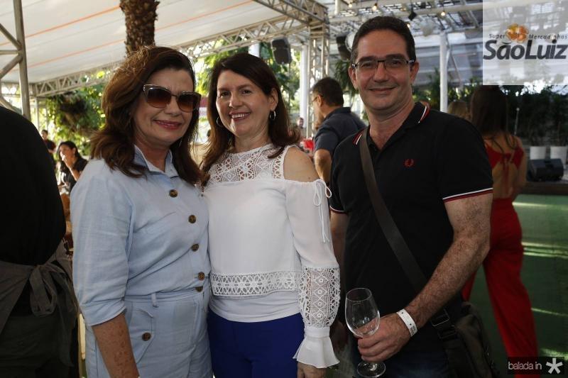 Denise Arruda, Ana Zelia Furtado e Alexandre Arruda