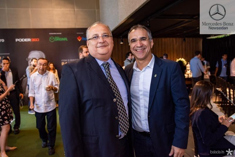 Marcos Pinheiro e Eduardo Neves