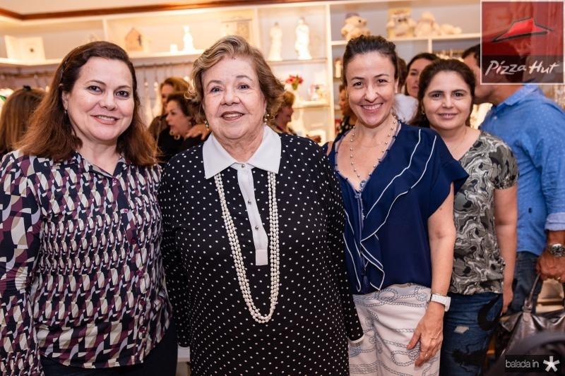 Marta Campelo, Glaucia Martins, Luciana Martins e Jerusa Teixeira