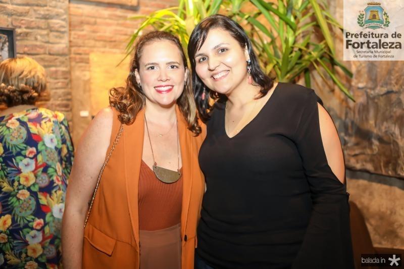 Amanda Camara e Cintia Assis