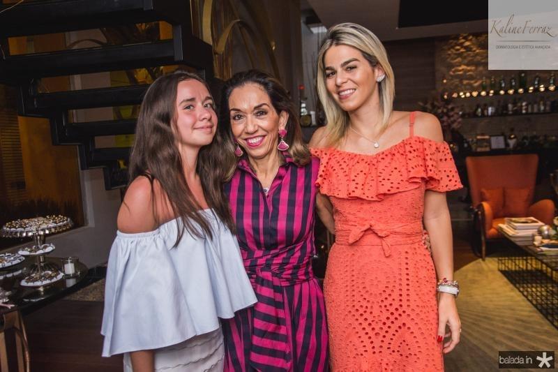 Nina, Marcia e Amanda Tavora