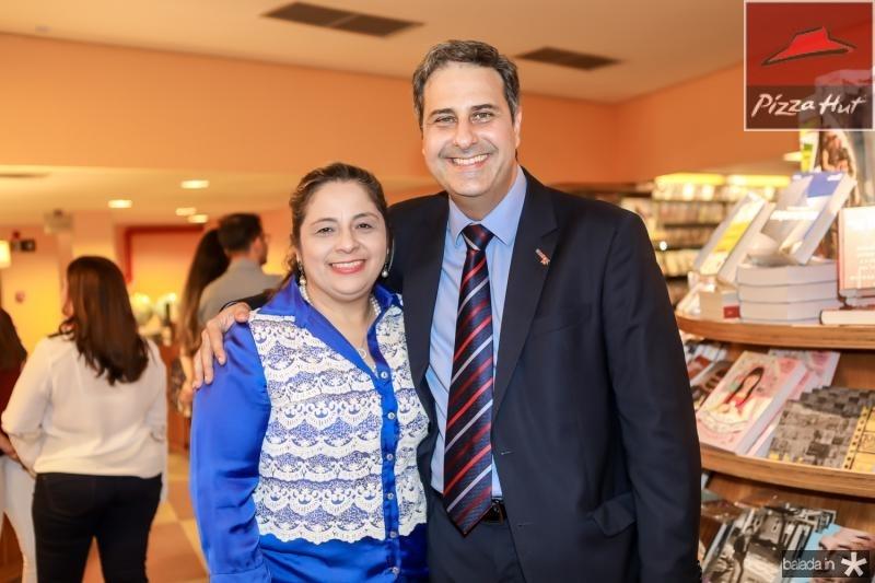 Francisca Castelo Branco e Erinaldo Dantas
