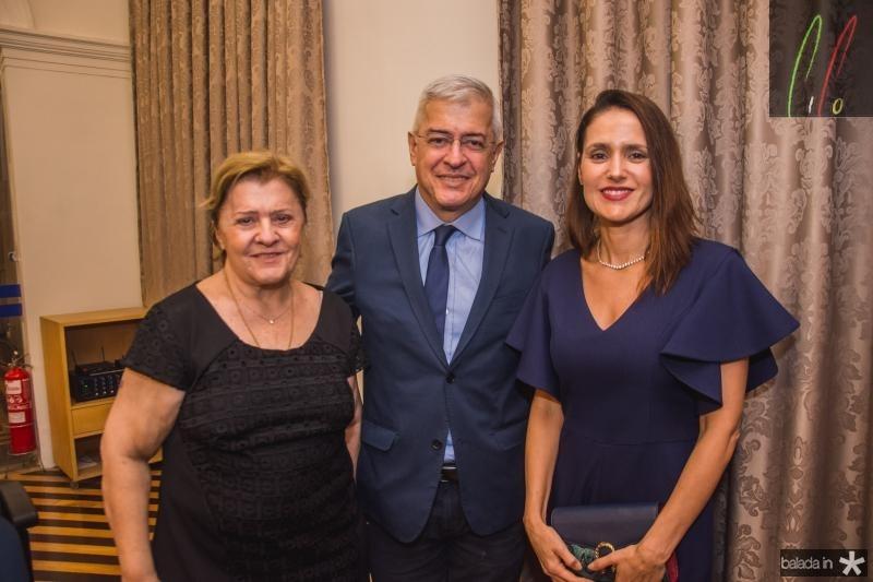 Lucila Noroes, Paulo Cesar Noroes e Manoela Bacelar