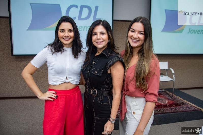 Livia Cavarvalho, Maria Lucia Negrao e Nathalya Lima