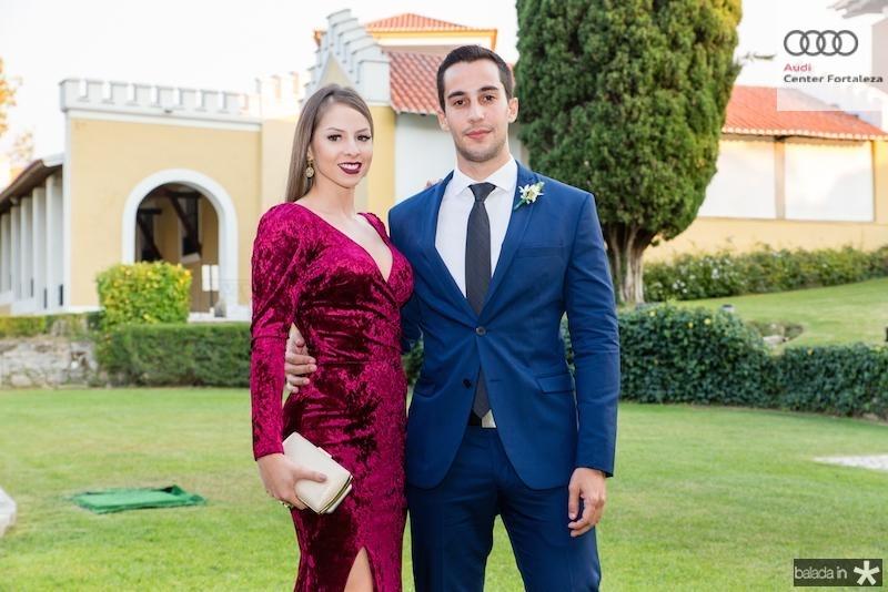 Ligia Bulcao e Bruno Nogueir