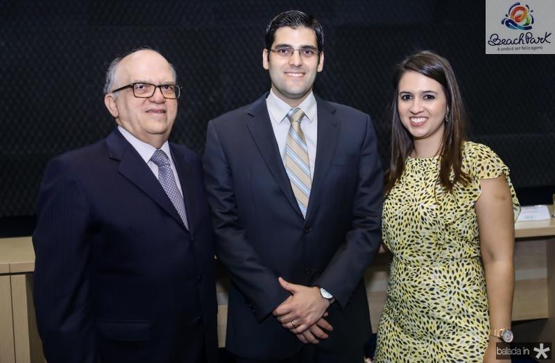 Fernando Ximenes, Joao Gabriel e Deise Rocha