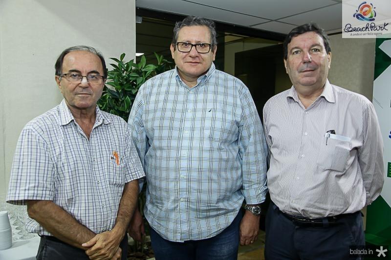 Zuza Oliveira, Bessa Junior e Eitor Studart