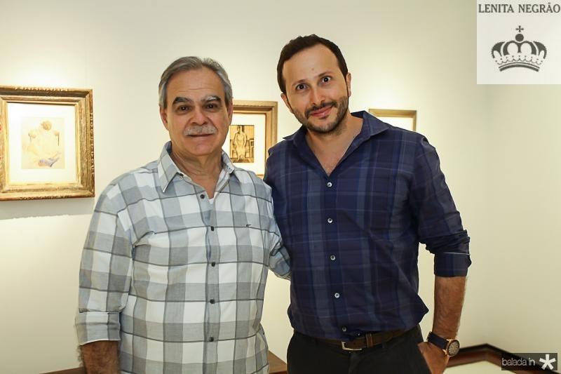 Max Perlingeiro e Thiago Braga