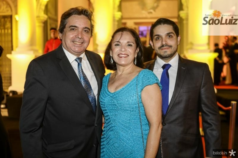 Totonho, Eluza e Fernando Laprovitera