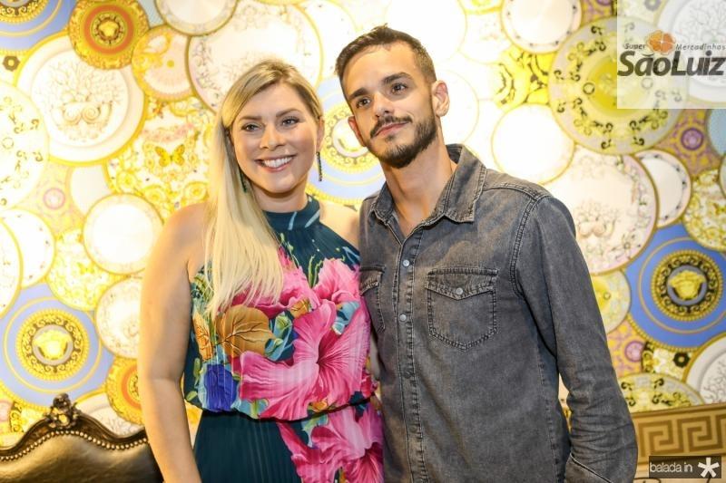 Genice Brandao e Gustavo Augusto