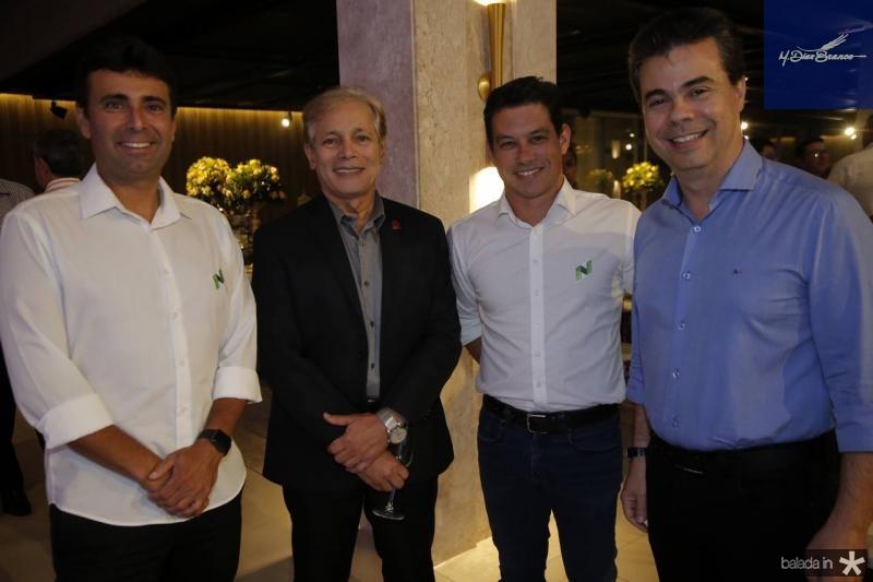 Marcos Novaes, Otacilio Valente, Rodrigo Freire e Duda Brigido