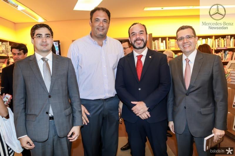 Leonardo Feitosa, Armando Costa, Waldir Xavier e  Gleidson Mota