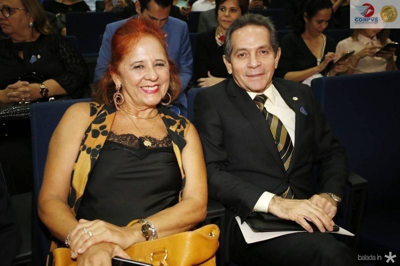 Fatima Duarte e Heitor Ferrer