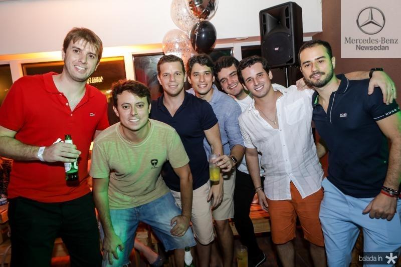 Daniel Bastos, Rafael Barros, Andre Rolim, Ricardo Rios, Kleitos Holanda e Oswaldo Duarte