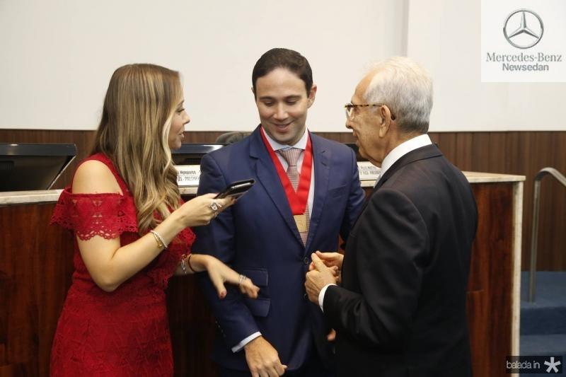 Rafaela e Thiago Asfor e Paulo Ponte