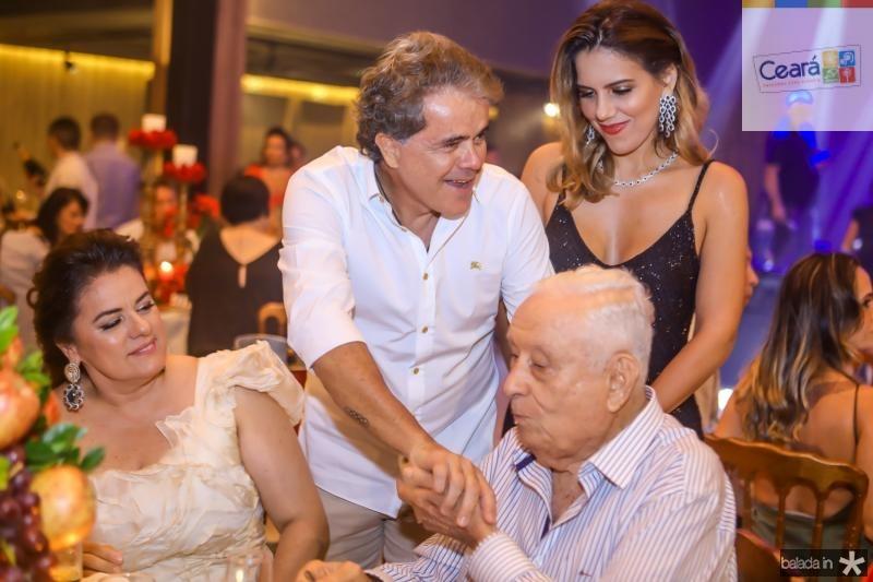 Silvana, Ivan e Adauto Bezerra, Ana Carolina Fontenele