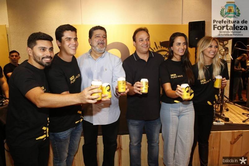 Renan Carvalho, Fernando Melo, Colombo Cialdini, Enio Cabral, Mariana Rech e Isabel Frozini 2