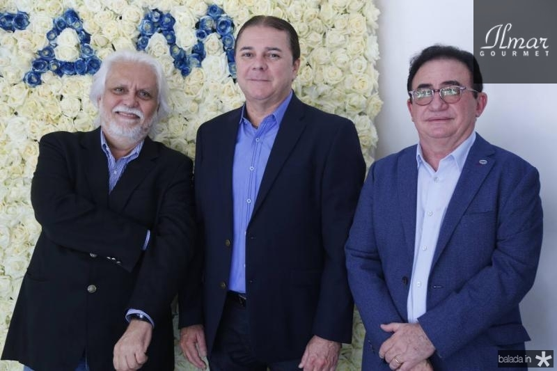 Joaquim Cartaxo, Eliseu Barros e Manuel Linhares