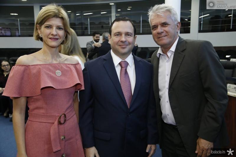 Cristina Brasil, Igor Barroso e Marcelo Brasil