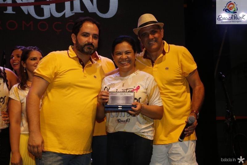 Pedro Neto, Leila e Andre Vercosa