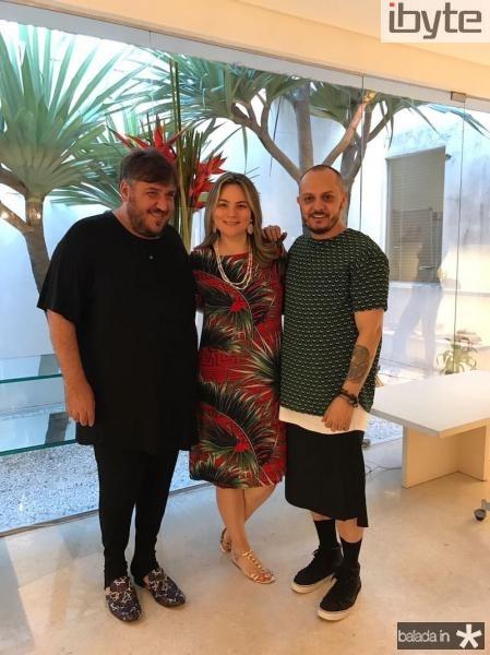 Leonan, Soraia Pinheiro e Giuliano