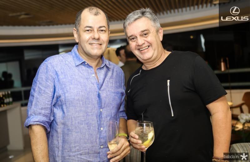 Gilvan Magno e Fred Portela