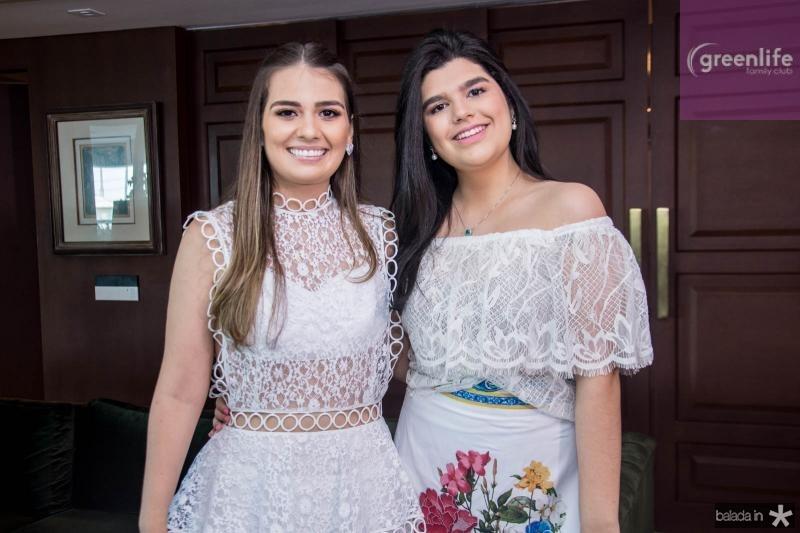 Manuela Câmara e Marcelle Câmara