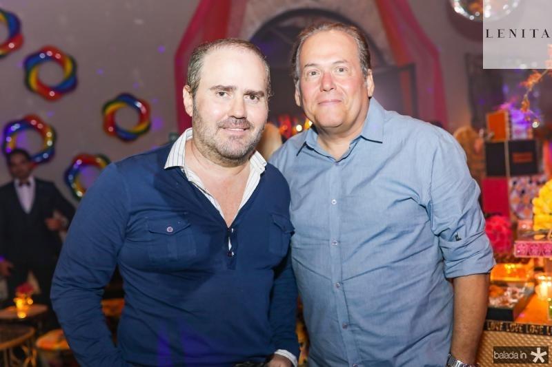 Roberto Pamplona e Angelo Figueiredo