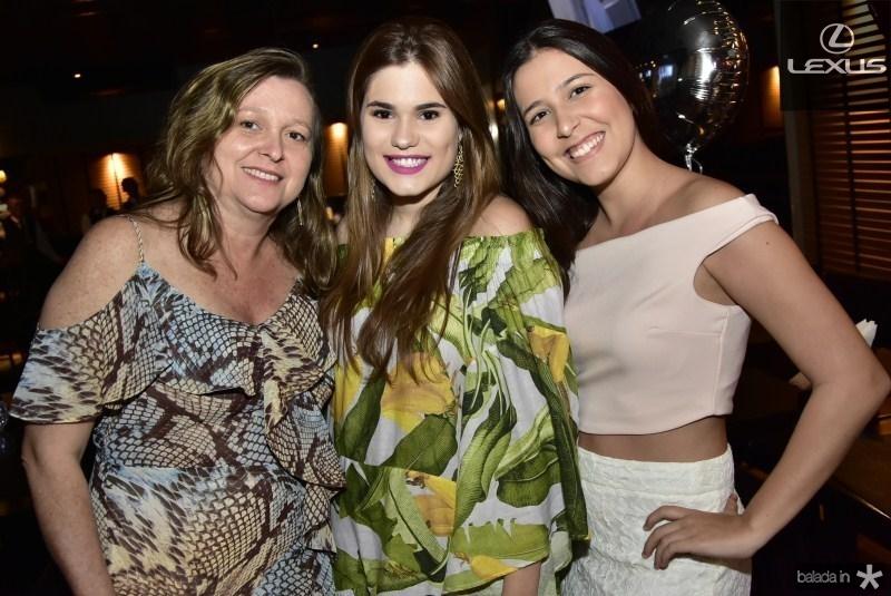 Karine Rangel, Mariana Filgueiras e Beatriz Medeiros