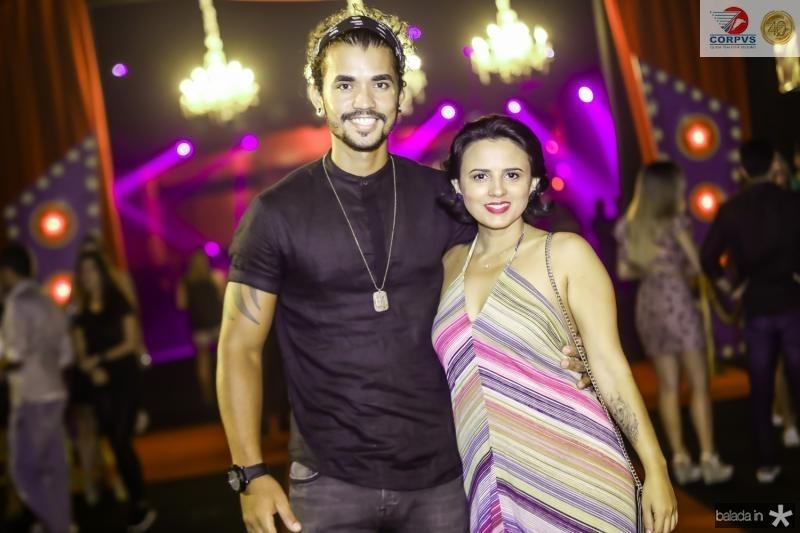 Igor Alves e Carol Ferreira