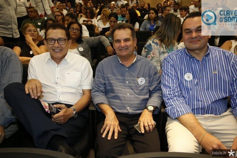 Elpidio Nogueira, Philipe Nottingham e Regis Tavares