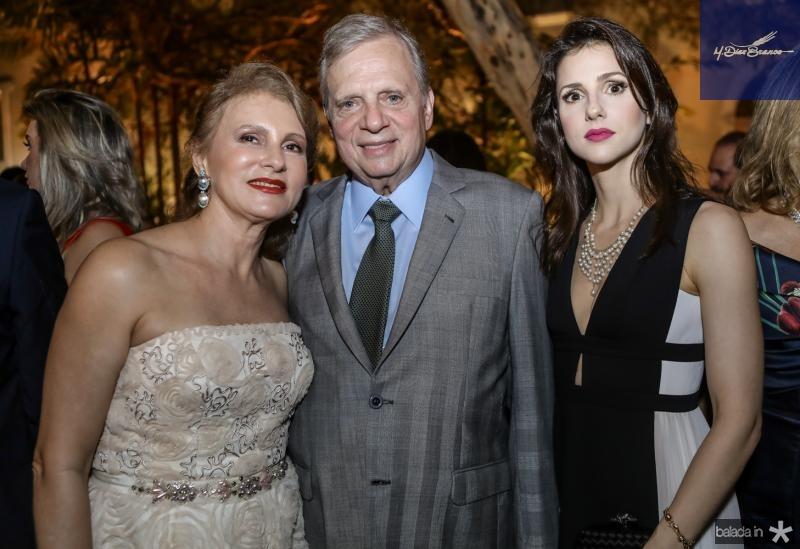 Renata, Tasso e Carla Jereissati