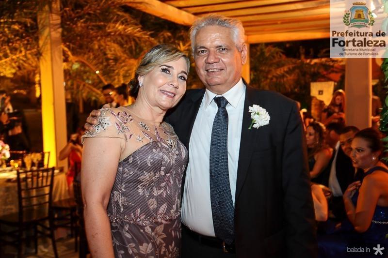 Flavia e Rafael Pordeus