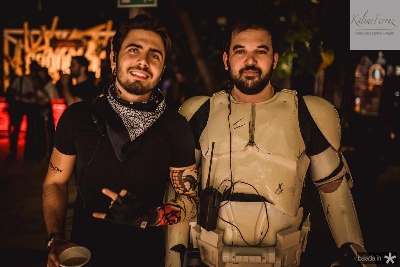 Artur Colares e Arialdo Pinho