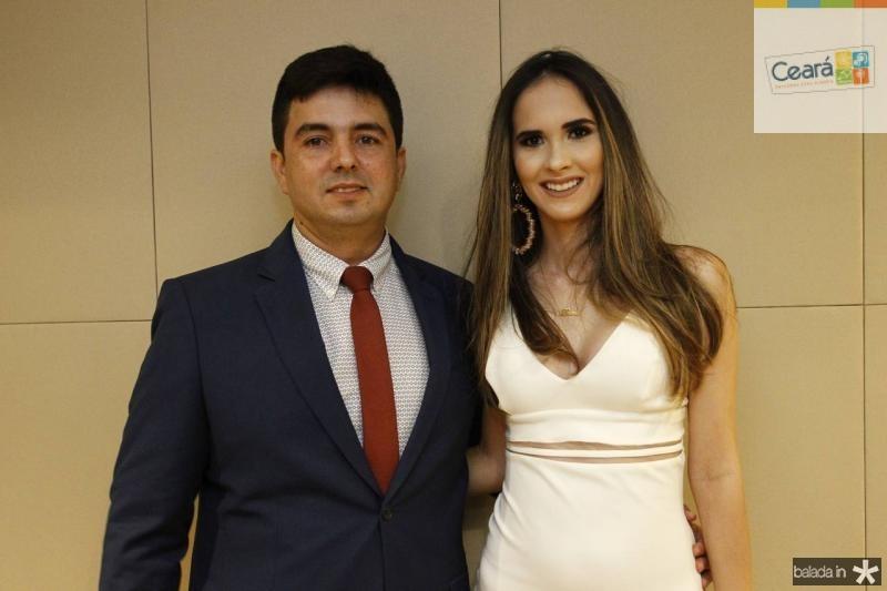 Daniel Bertoldo e Bruna Menezes