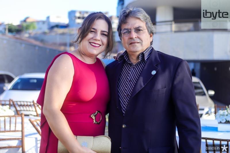 Ana Paula e Walter Bardawil