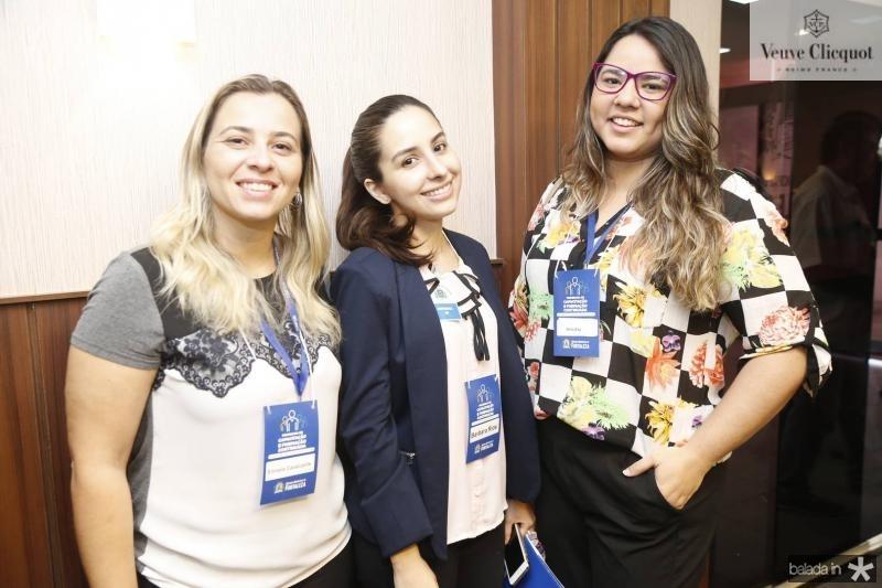 Silmara Cavalcanbte, Barbara Rios e Anna Rita