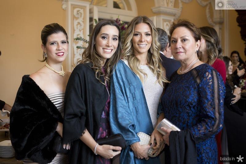 Tayane Cysne, Manuela Melo, Bruna Waleska e Paula Frota