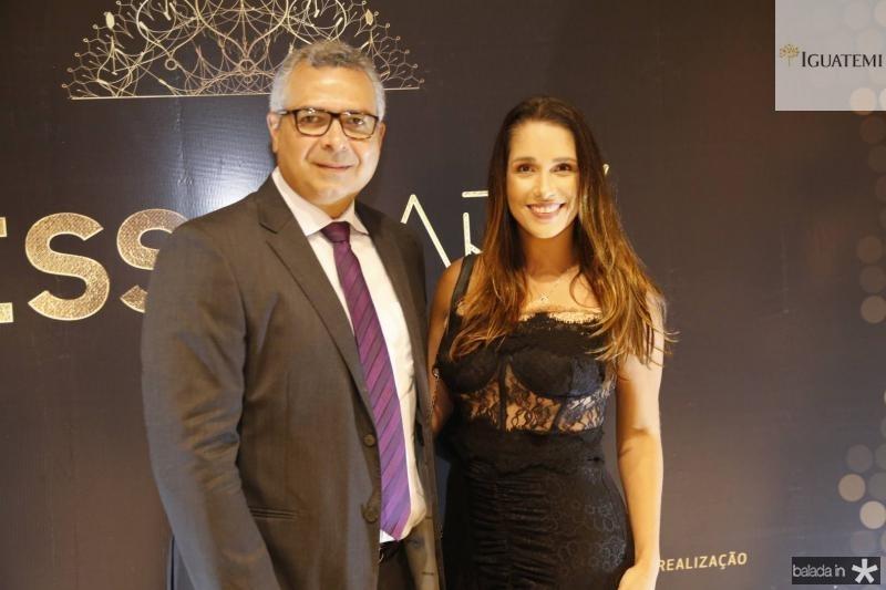 Jorge Regis e Talita Ribeiro