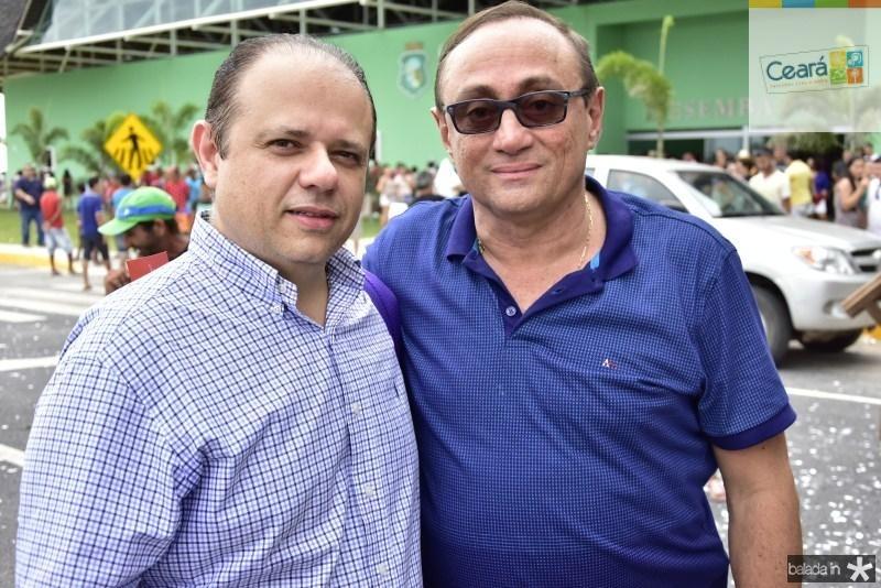 Claudio Pinho e Tin Gomes